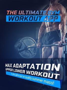 Max Adaptation Upper Lower Workout screenshot 3