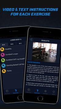 4 Day Home Muscle Building Plan screenshot 1