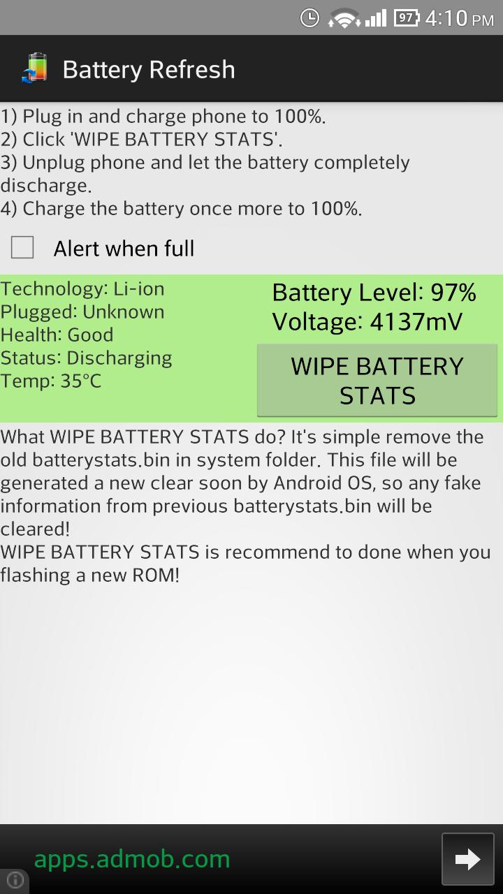 Battery Refresh for Android - APK Download