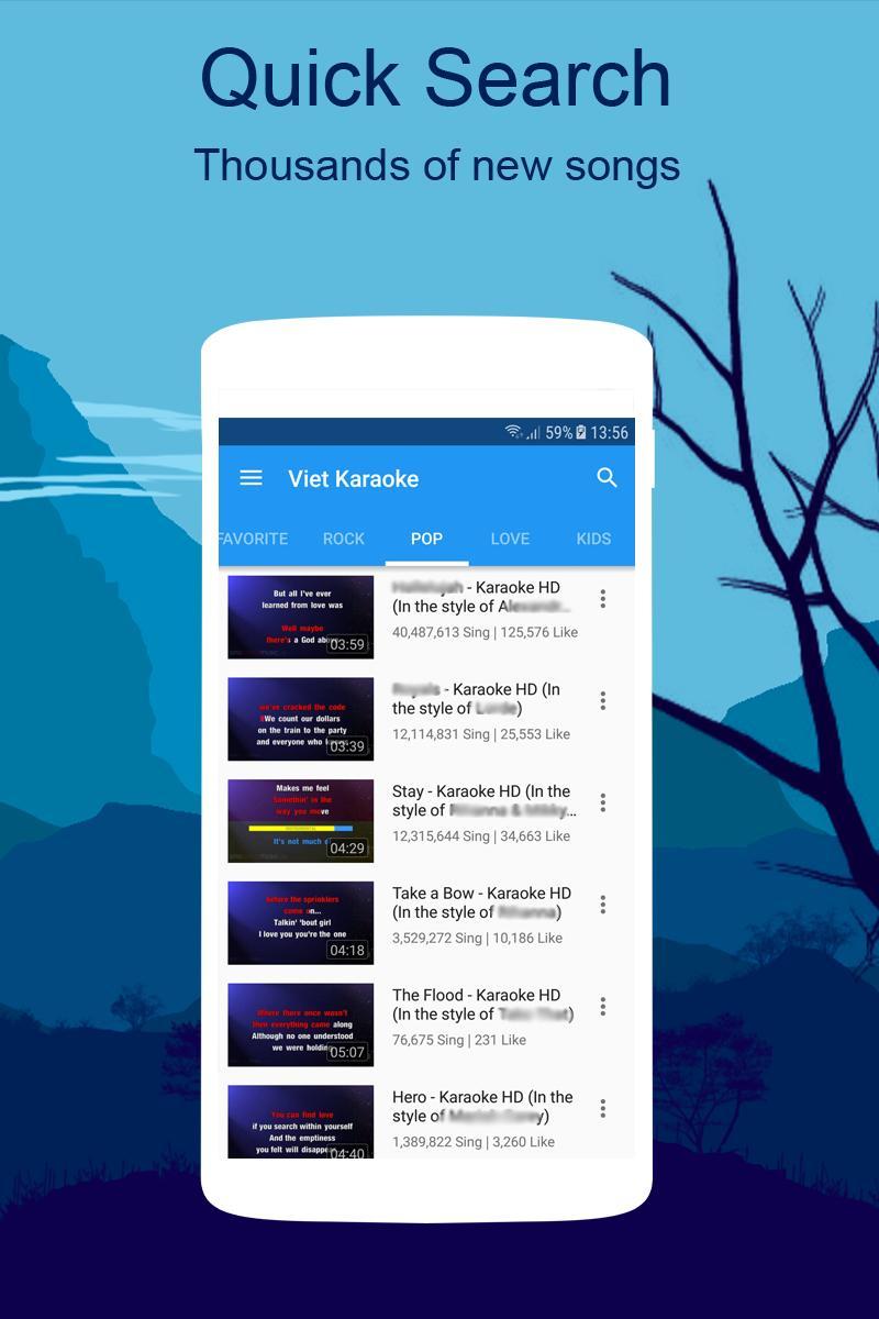 Free Karaoke - Sing Karaoke Record for Android - APK Download