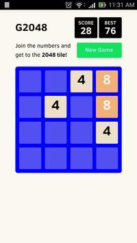 g2048 apk screenshot