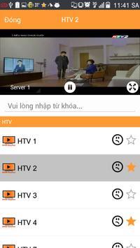 DVGT - Xem Tivi Việt Nam Free apk screenshot