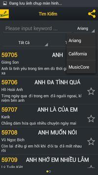 DVGT - Mã Số Karaoke apk screenshot