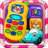 Icona gioco telefono per bambini