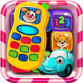 Phone for kids baby toddler - Baby phone icon