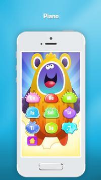 Phone for kids baby toddler - Baby phone screenshot 1