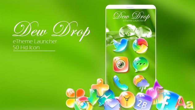 Dewdrop - eTheme Launcher poster