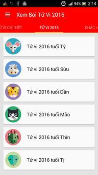 Xem Bói Tử Vi 2016 apk screenshot