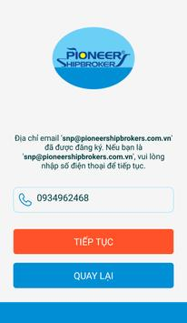 Pioneer Shipbrokers screenshot 1