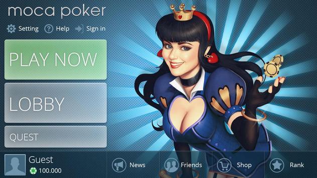 Moca Poker poster