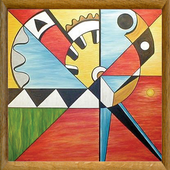 Abstract Painting Art icon
