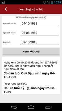 Xem Ngay Tot Xau - Xem Boi screenshot 4