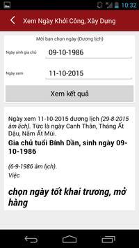 Xem Ngay Tot Xau - Xem Boi screenshot 5