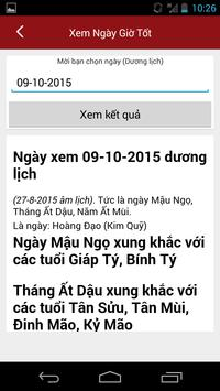 Xem Ngay Tot Xau - Xem Boi screenshot 1