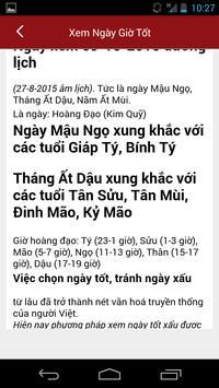 Xem Ngay Tot Xau - Xem Boi screenshot 3