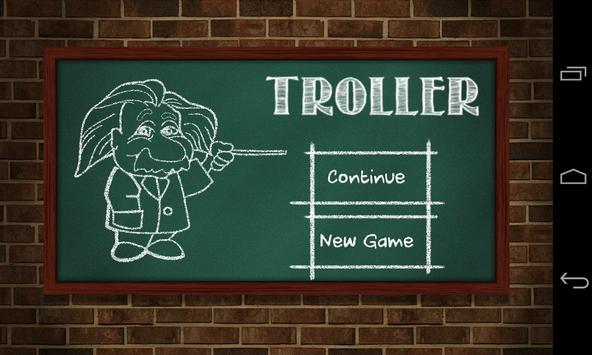 IQ Troller - Test creativity poster