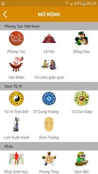 LỊCH VẠN NIÊN 2018 - Lịch Việt screenshot 4