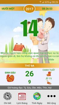 LỊCH VẠN NIÊN 2018 - Lịch Việt screenshot 16