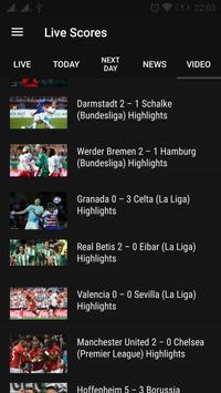 Live Scores: Football/Soccer 2 apk screenshot