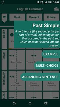 English tenses practice 스크린샷 1