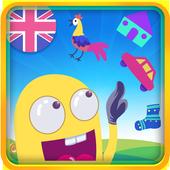 English Vocabulary:puzzle game icon