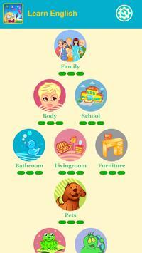 English Vocabulary:puzzle game apk screenshot