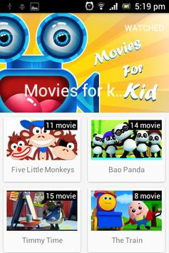 Movies for kids poster