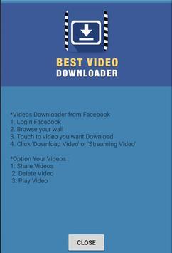 Videos downloader from facebook apk baixar grtis ferramentas videos downloader from facebook apk imagem de tela ccuart Choice Image