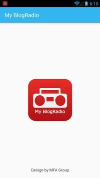 My BlogRadio poster