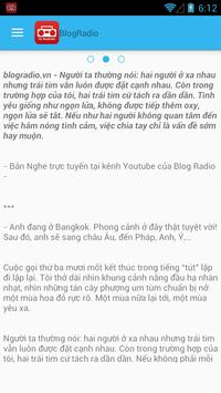 My BlogRadio apk screenshot