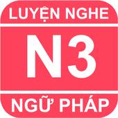 JLPT N3 Mimikara Grammar icon
