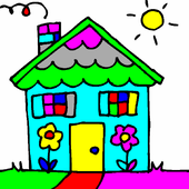 Simple Kid Coloring icon