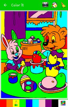 Simple Kid Coloring poster