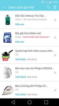 Goody: khuyến mãi siêu thị, hàng ngàn quà tặng apk screenshot