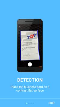 Card Scanner - Contact Creator poster