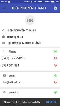 Card Scanner - Contact Creator screenshot 7