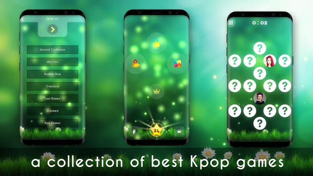 Kpop music game poster