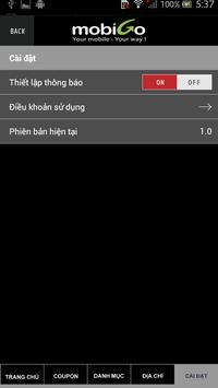 MobiGo Shop apk screenshot