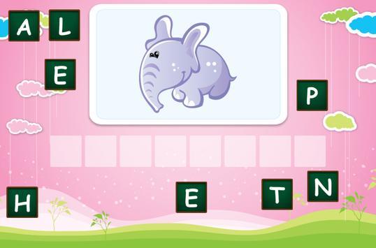 Spelling for children screenshot 4