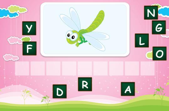 Spelling for children screenshot 2
