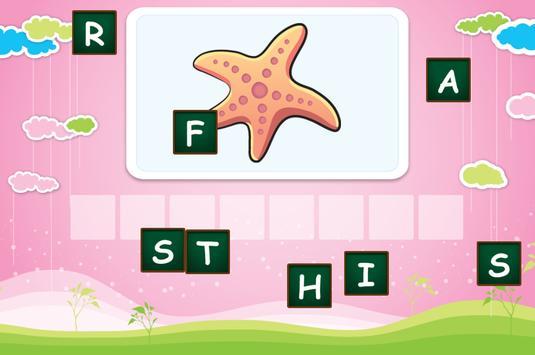 Spelling for children screenshot 3