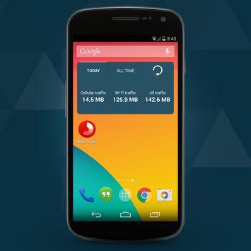 WADA WiFi 3G /4G Traffic meter apk screenshot