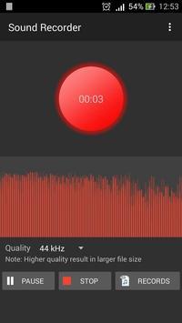 Voice Recorder Sound Recorder poster