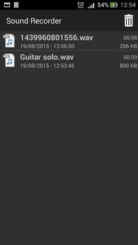 Voice Recorder Sound Recorder screenshot 1