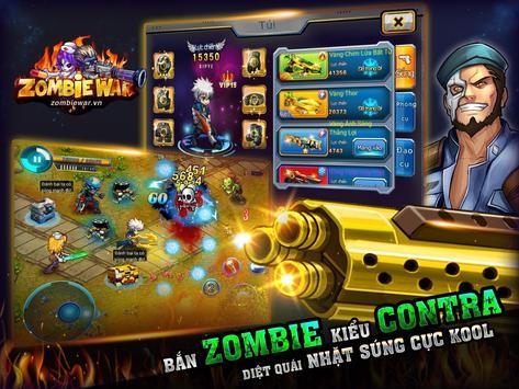 Zombie War AT apk screenshot