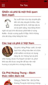 HoangTrungCoffee screenshot 4