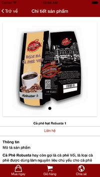 HoangTrungCoffee screenshot 3