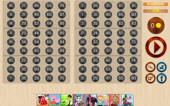 Bingo 90 Lite screenshot 8