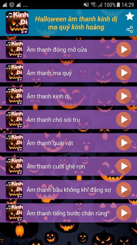 ... Halloween am thanh kinh di ma quy kinh hoang captura de pantalla 4 ...