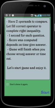 Quick Inequality screenshot 1
